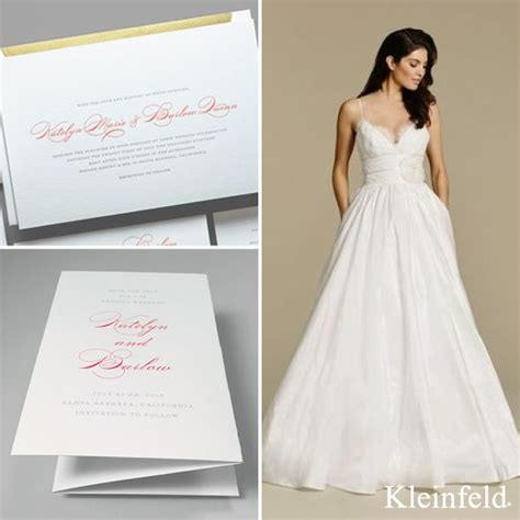 kleinfeld bridal wedding invitations 85 best kleinfeld pairs images on bridal dresses bridal gowns and