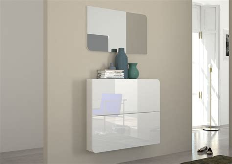mobile ingresso bianco scarpiera vita mobile ingresso bianco o nero con specchio