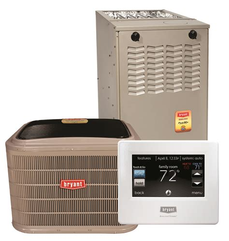 comfort plus heating and cooling bryant 80 high efficiency heating cooling systems