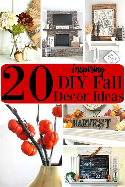 20 inspiring diy fall decor ideas projects lifestyle