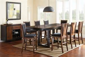 9 Counter Height Dining Room Sets Julian Extendable Rectangular Counter Height Dining Room