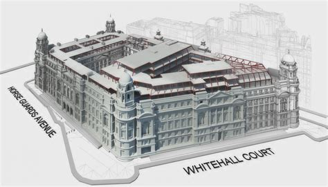 28 1000 Sq Ft 163 1bn old war office hotel gets go ahead construction