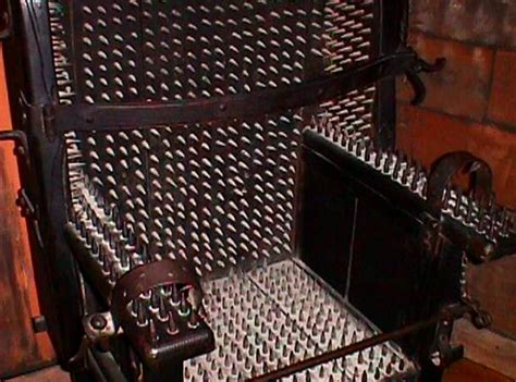 The Judas Chair by 25 Most Techniques Created