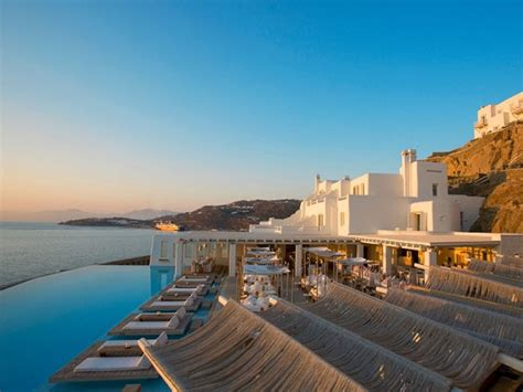 cavo tagoo hotel mykonos minimalist cliffside paradise idesignarch interior design architecture interior decorating emagazine