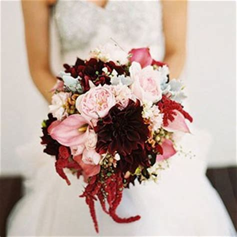 Pictures Fall Wedding Flowers by Seasonal Bouquets For A Fall Wedding Brides