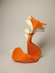 Origami Fox Advanced - another origami fox how about orange origami and paper