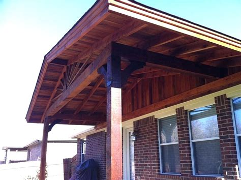 gable patio backyard cover roof ideas style building plans