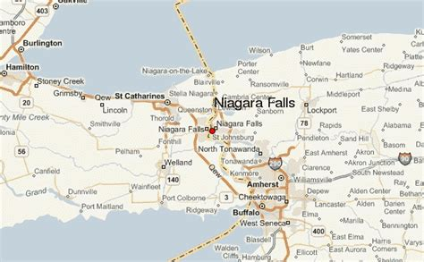 map usa niagara falls niagara falls new york location guide