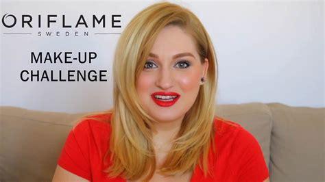 Make Up Oriflame oriflame make up challenge un machiaj complet