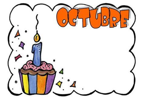 imagenes mes octubre halloween meses y dias de la semana bienvenido octubre