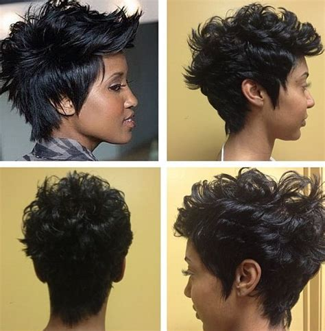 360 degree hairstyle photos 50 best images about short hair on pinterest black