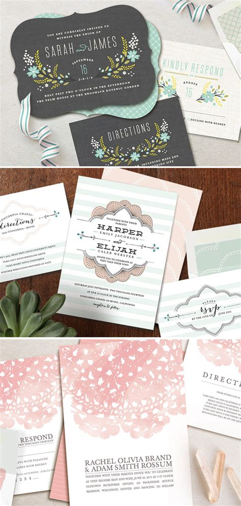 minted wedding invitations 2 minted wedding stationery 200 giveaway sponsored post 100 layer cake