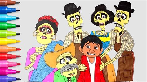 coco coloring book disney pixar coco coloring pages for boys and books coco pixar disney coloring pages coloring books