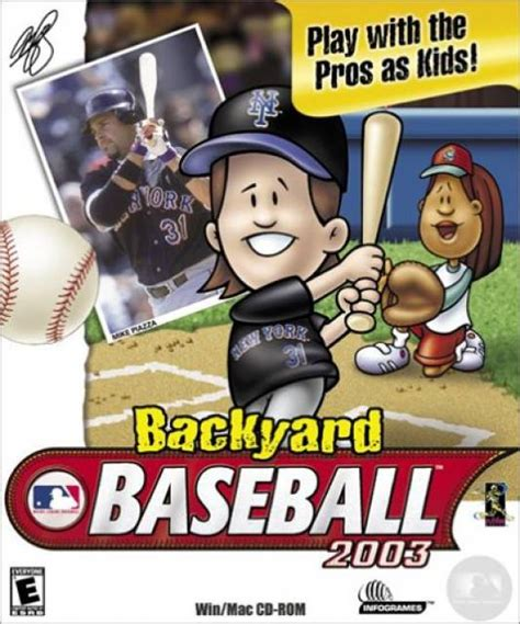 backyard baseball games backyard baseball 2003 game giant bomb