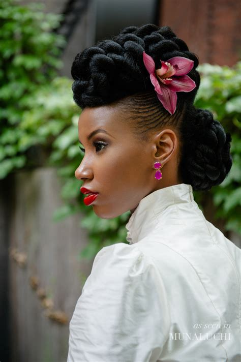 natural hair updo bridal inspired sisiyemmie natural hair bridal style lurie daniel favors http going