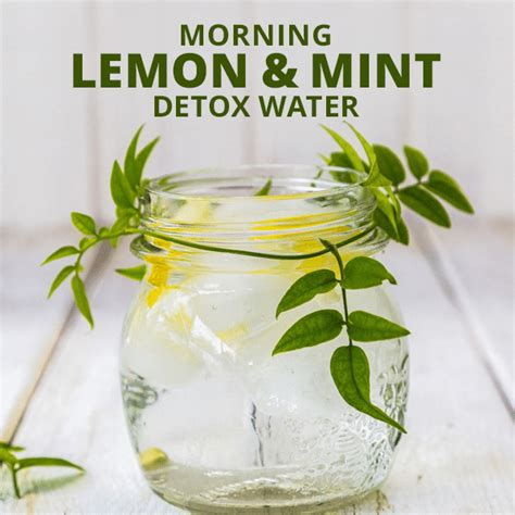 Lemon Water Detox For 3 Days 3 day soup detox