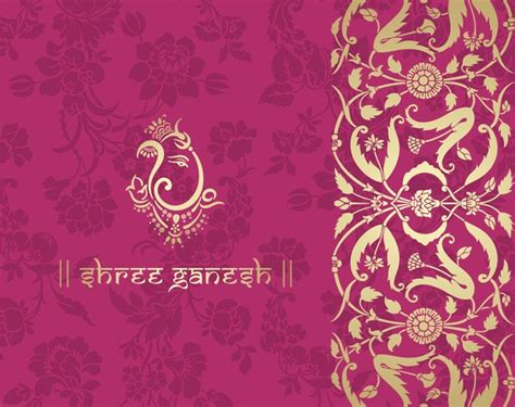 pink ethnic wallpaper indian ethnic pattern with pink backgrounds vector 03