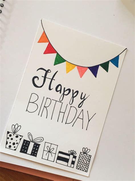 Handmade Birthday Card Ideas For
