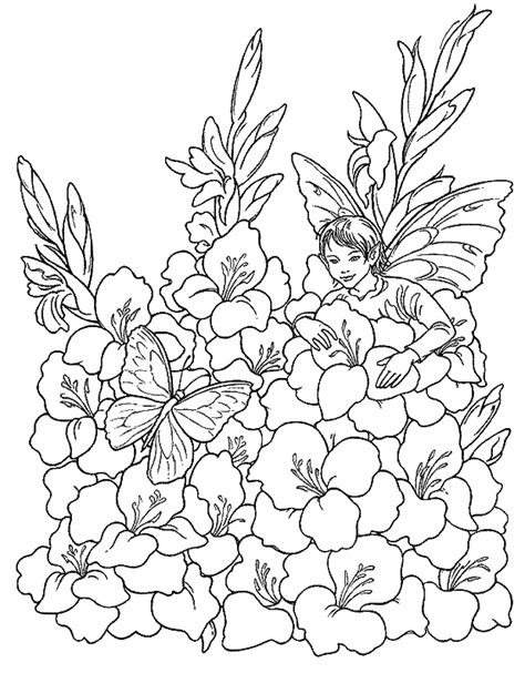 Coloriage Elfes Page 10 224 Colorier Allofamille