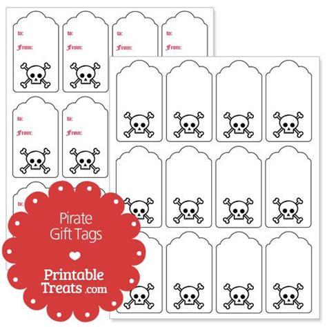 printable pirate name tags pirate gift tags printable disney fish extender pinterest