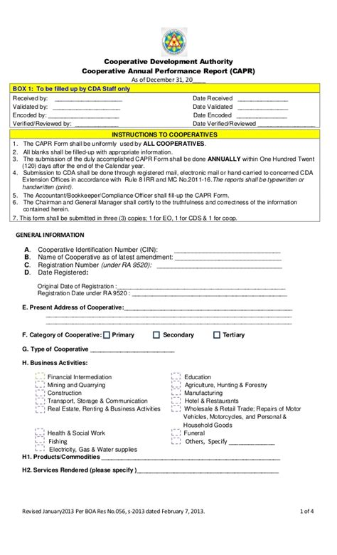 Revised Capr Form 2012 Cooperative Marketing Agreement Template