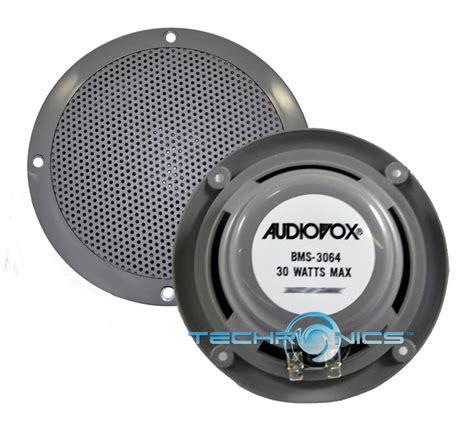 6 5 boat speakers 09 pair audiovox 6 5 quot marine boat speakers weatherproof