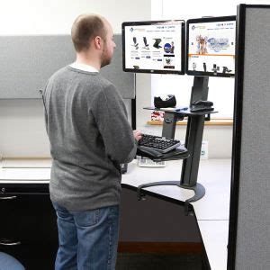how to create a standing desk how to create a standing desk in a cubicle american hwy