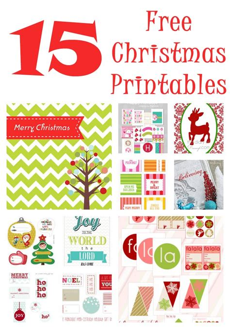 printable christmas free christmas printables 15 free downloads