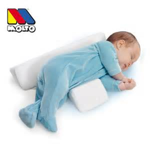 Baby Positioner For Crib Hibaby Newborn Baby Sleep Positioner Infant Anti Roll Cushion Two Wedge Pillow Ebay