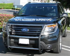 Ford Explorer Brush Guard Ford Explorer Grille Guard Consumer Alert Ford