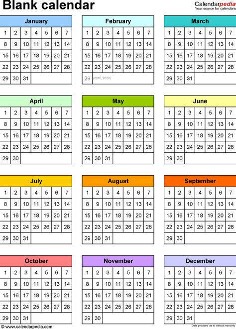 free blank calendar template for mac free monthly calendar template for mac