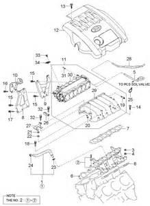 Kia Sedona Parts 2004 Kia Sedona Intake Manifold Mpi Dohc 3 5l