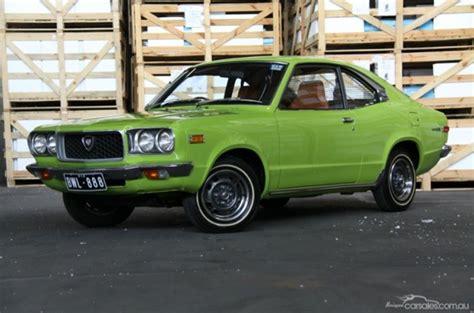 Cool Car Interior For Sale Original 1972 Mazda Rx 3 In Earth Green