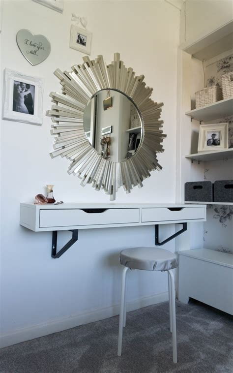 ikea dressing table hack ikea hack ekby alex dressing table renovation bay bee