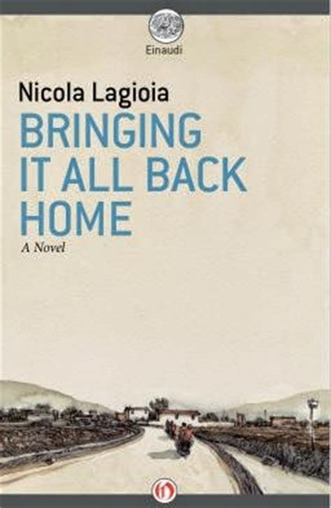 italophile book reviews bringing it all back home by