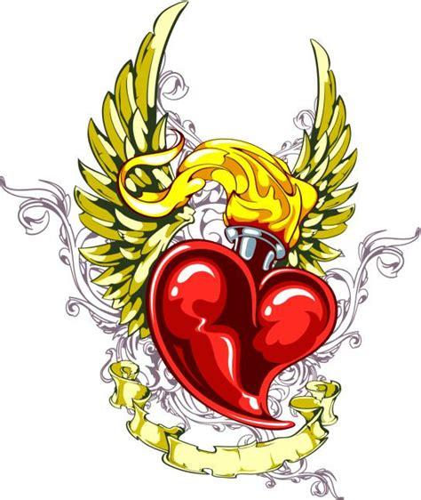 imagenes de corazones con una rosa clavada simbolog 237 a de los tatuajes de coraz 243 n batanga