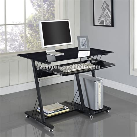 glass table for computer big lots computer desk dx 8812b
