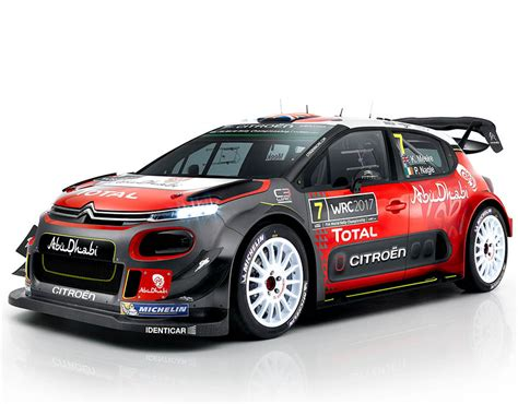 car rally 2017 citroen c3 wrc rally car in pictures pictures