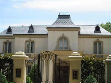 slate roofing french provincial style home in balwyn new french provincial slate roofs slate roofing on new