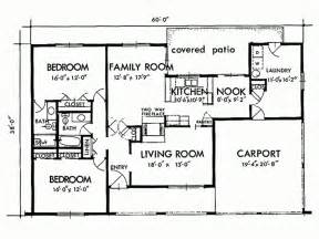 Simple Two Bedroom House Plans by Tiny Bungalow Floor Plan Trend Home Design And Decor