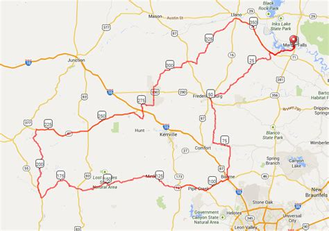 texas waterfalls map raam cycling challenge marble falls tx all up to date 2017 texas bicycle rides