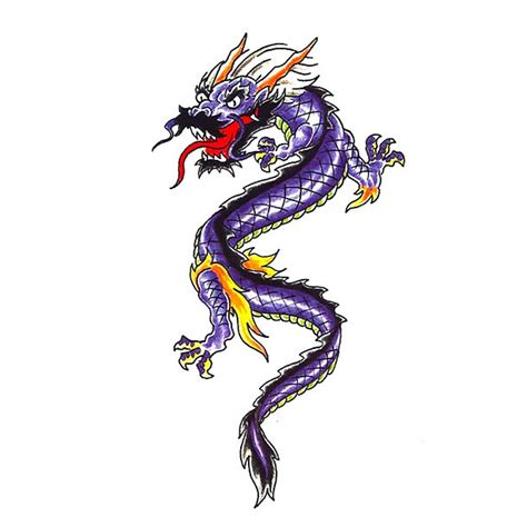 simple asian tattoo design small chinese dragon tattoo sketch