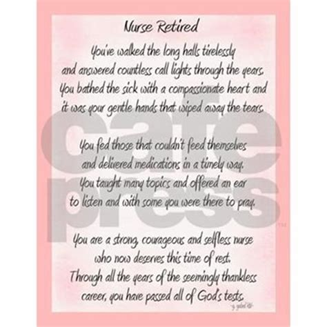 nurse retired poem throw blanket by gailgabel