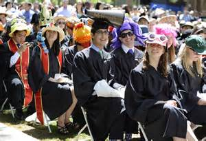 the one stand college student by day professional by books want to stand out in cap and gown decorate the