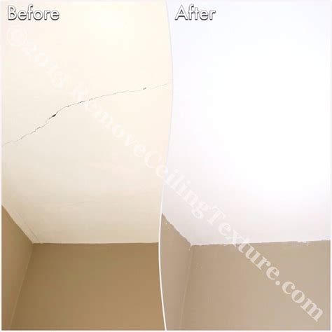 Drywall Cracks In Ceiling Causes by Ceiling Cracks Removeceilingtexture Vancouver S