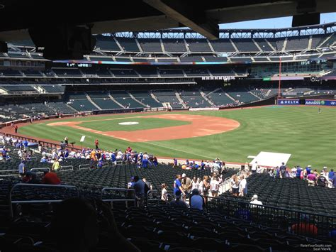 citi field section 108 rateyourseats