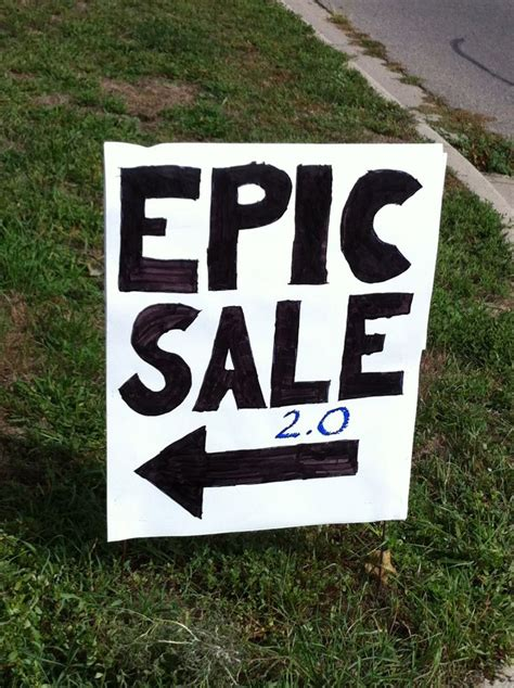 Buy Garage Sale Signs by The 25 Best Garage Sale Signs Ideas On Yard