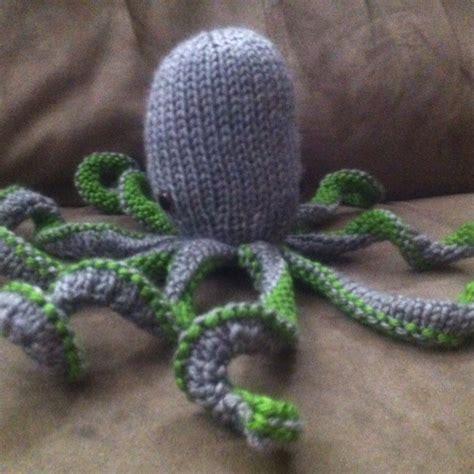 knitting pattern octopus knit octopus boo ya tattoos i want pinterest