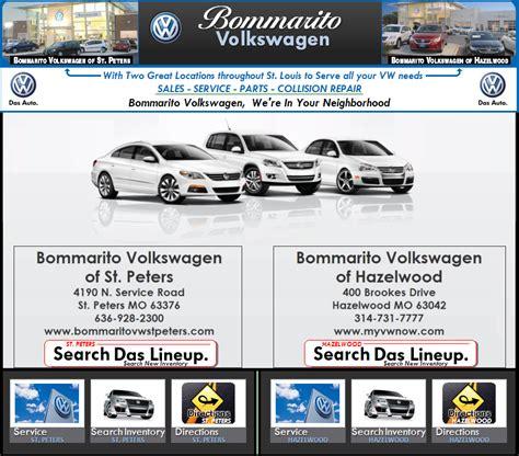 volkswagen bommarito auto sales service parts