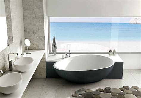 Freistehende Badewanne An Wand by 20 Contemporary Bathroom Tubs For A Soothing Experience
